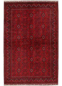 Dark Red Khal Mohammadi 6' 7 x 9' 10 - No. 69600