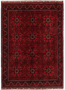 Dark Red Khal Mohammadi 5' 6 x 7' 6 - No. 69601