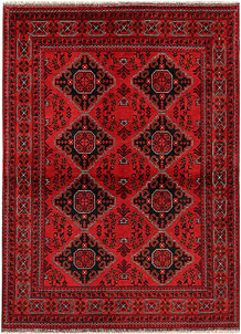Dark Red Khal Mohammadi 4' 11 x 6' 8 - No. 69602