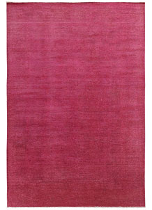 Pale Violet Red Overdyed 6' 5 x 9' 6 - No. 69628