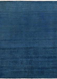 Steel Blue Overdyed 8' 9 x 10' 11 - No. 69635