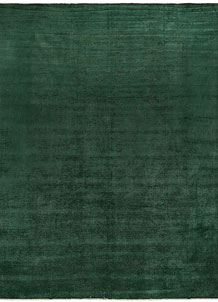 Darkgreen Overdyed 9' 11 x 13' 2 - No. 69636