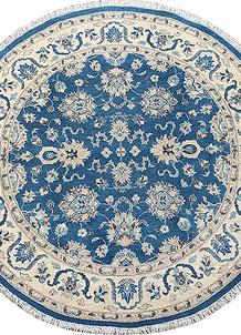 Light Sky Blue Ziegler 6' x 6' - No. 70417