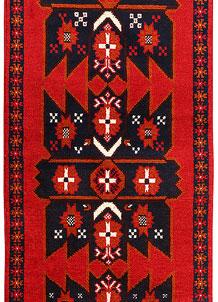 Red Baluchi 2' 4 x 6' 6 - No. 70425