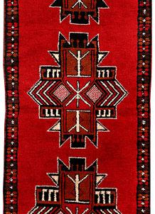 Red Baluchi 2' 5 x 6' 6 - No. 70428