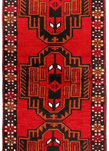Red Baluchi 2' 6 x 6' 5 - No. 70445