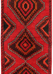 Red Baluchi 2' 6 x 6' 1 - No. 70447