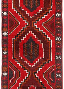 Red Baluchi 2' 4 x 6' 4 - No. 70451