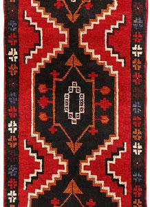 Red Baluchi 2' 5 x 6' 5 - No. 70454