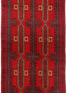 Red Baluchi 2' 4 x 6' 3 - No. 70455