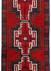 Firebrick Baluchi 2' 6 x 6' 4 - No. 70456