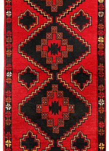 Red Baluchi 2' 5 x 6' 4 - No. 70461