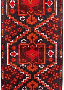 Multi Colored Baluchi 2' 4 x 6' 8 - No. 70470