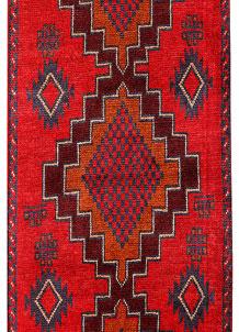 Red Baluchi 2' 6 x 5' 9 - No. 70485