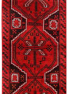 Red Baluchi 2' 5 x 6' 9 - No. 70486
