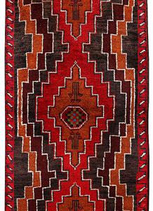 Red Baluchi 2' 4 x 6' 4 - No. 70494