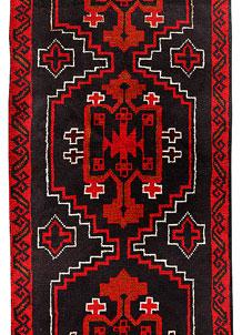 Multi Colored Baluchi 2' 5 x 6' 9 - No. 70506