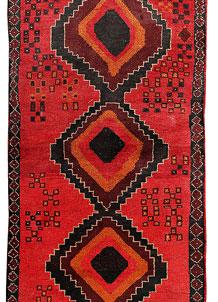 Red Baluchi 2' 11 x 12' 7 - No. 70509