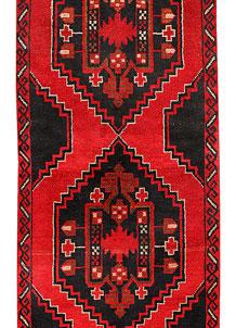 Red Baluchi 2' 10 x 12' 10 - No. 70513