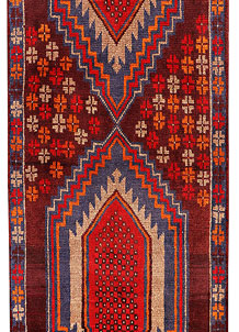 Multi Colored Baluchi 2' 11 x 12' 7 - No. 70517