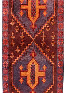Multi Colored Baluchi 2' 11 x 12' 3 - No. 70532