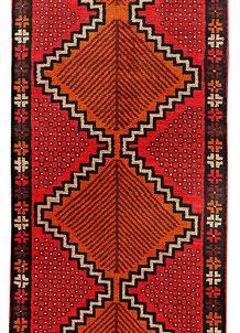 Multi Colored Baluchi 2' 5 x 12' 2 - No. 70544
