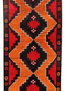Orange Baluchi 2' 9 x 12' 6 - No. 70547