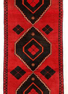 Red Baluchi 2' 7 x 12' 10 - No. 70549