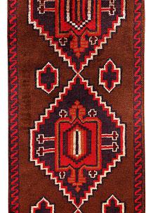 Saddle Brown Baluchi 2' 8 x 13' 1 - No. 70555