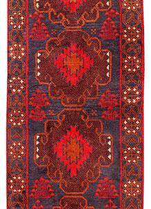 Multi Colored Baluchi 2' 8 x 12' 9 - No. 70558