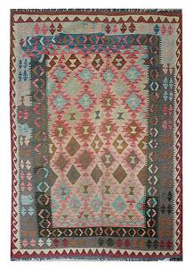 Multi Colored Kilim 5' 6 x 8' 2 - No. 70564