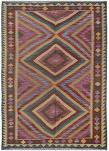Multi Colored Kilim 5' x 8' - No. 70575