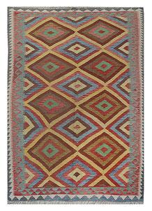Multi Colored Kilim 5' 4 x 7' 9 - No. 70584