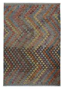 Multi Colored Kilim 5' 10 x 8' - No. 70586