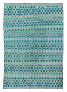Multi Colored Kilim 5' 11 x 7' 10 - No. 70588