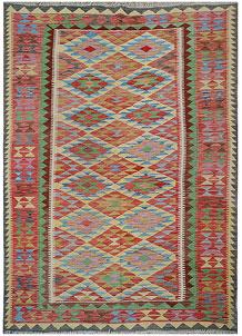 Multi Colored Kilim 5' 8 x 8' 2 - No. 70591
