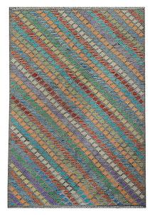 Multi Colored Kilim 5' 5 x 7' 8 - No. 70595