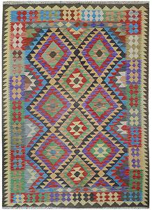 Multi Colored Kilim 5' 4 x 7' 10 - No. 70602