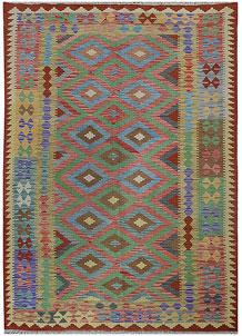 Multi Colored Kilim 5' 4 x 8' 1 - No. 70603