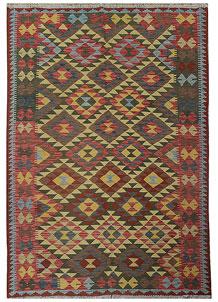 Multi Colored Kilim 5' 9 x 7' 10 - No. 70610