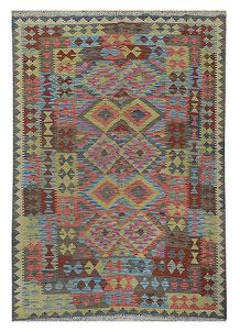 Multi Colored Kilim 5' 3 x 7' 9 - No. 70617
