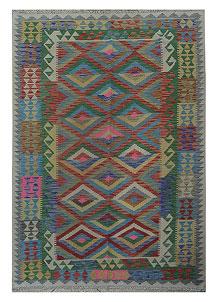 Multi Colored Kilim 5' 2 x 7' 9 - No. 70618