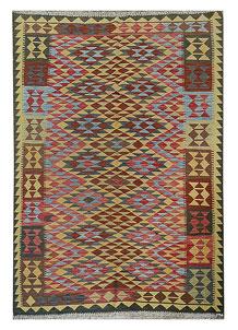 Multi Colored Kilim 5' 4 x 7' 7 - No. 70623