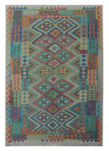Multi Colored Kilim 5' 4 x 7' 8 - No. 70624