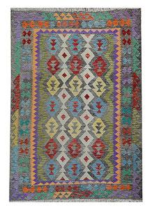 Multi Colored Kilim 5' 7 x 8' - No. 70630