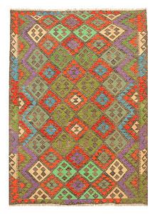 Multi Colored Kilim 5' 8 x 8' 3 - No. 70638