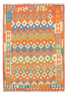 Multi Colored Kilim 5' 9 x 7' 11 - No. 70639