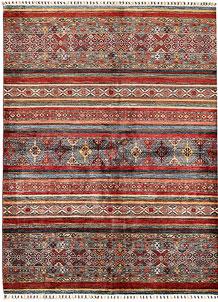 Multi Colored Kazak 5' 11 x 7' 10 - SKU 70812