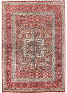 Firebrick Mamluk 6' 6 x 9' 8 - SKU 70859