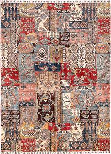 Multi Colored Kazak 5' 10 x 7' 11 - SKU 70876